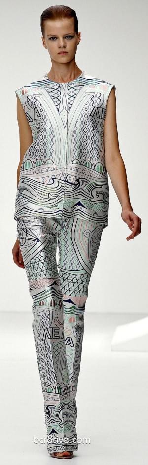 Mary Katrantzou Spring Summer 2013 Ready To Wear Collection – London Fashion Week