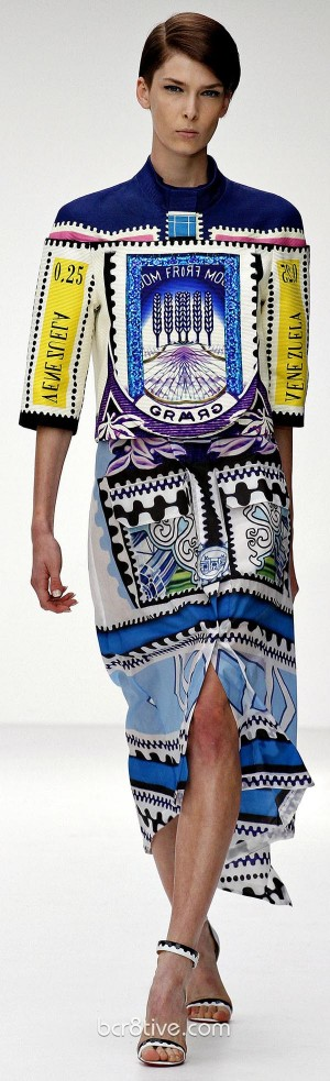 Mary Katrantzou Spring Summer 2013 Ready To Wear Collection – London Fashion Week