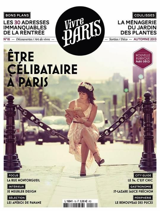 NAS CAPAS: Vivre Paris, Autumn 2013