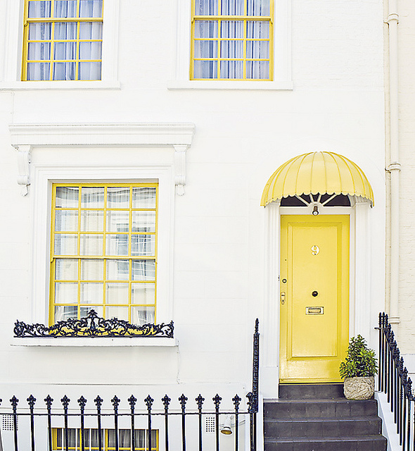 Notting hill in colour