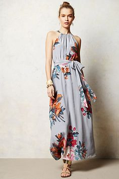 Peach Blossom Maxi Dress | Cute Outfits <3 | Pinterest