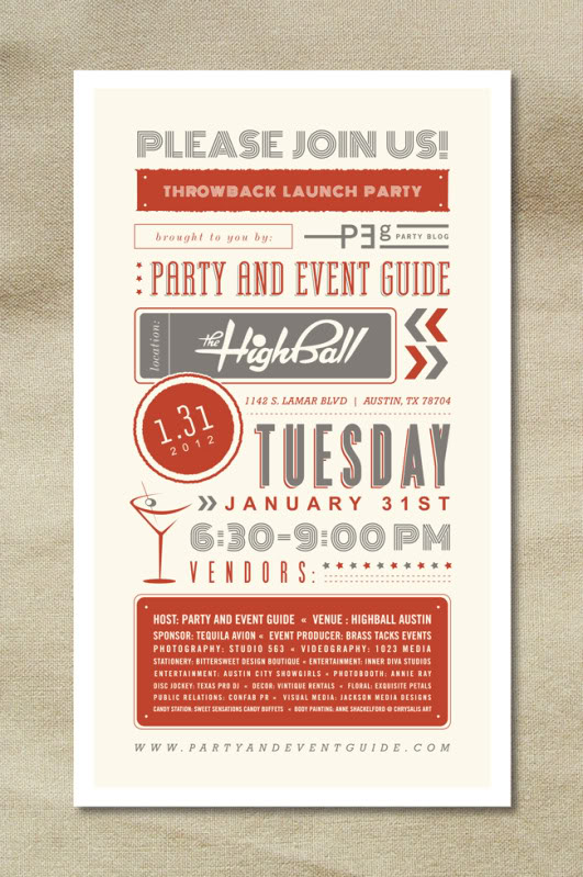 PEG's Throwback Launch Party – photography templates | photoshop designs | psd photo ...