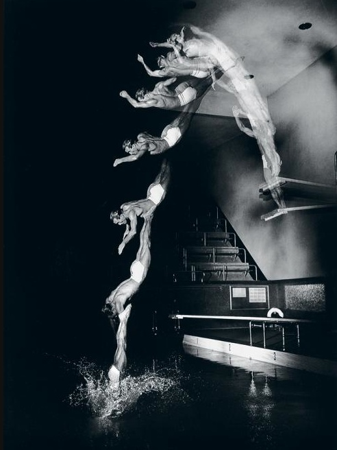 Motion Photograph by Harold Edgerton