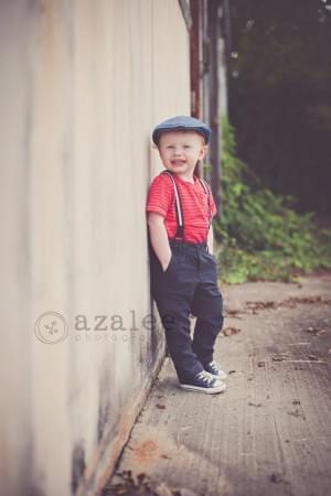 Azalee Photography » urban photo shoot, vintage shoot, little boy, 2 year old photos, downtown C ...