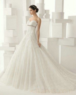 wedding Photo – style 340.00 bridal gown – Style Rosa Clara 206 CADENA For you,The ...