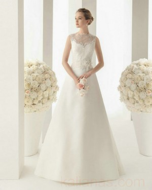wedding Photo – style 332.00 bridal gown – Style Rosa Clara 162 MILAN Lace And Organ ...