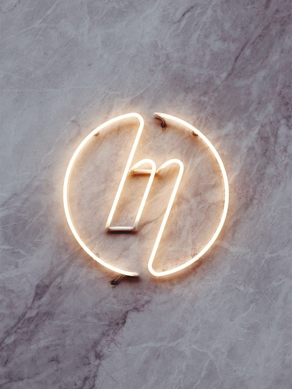 Neon Logo for The Millennium by Ilya Kolganov