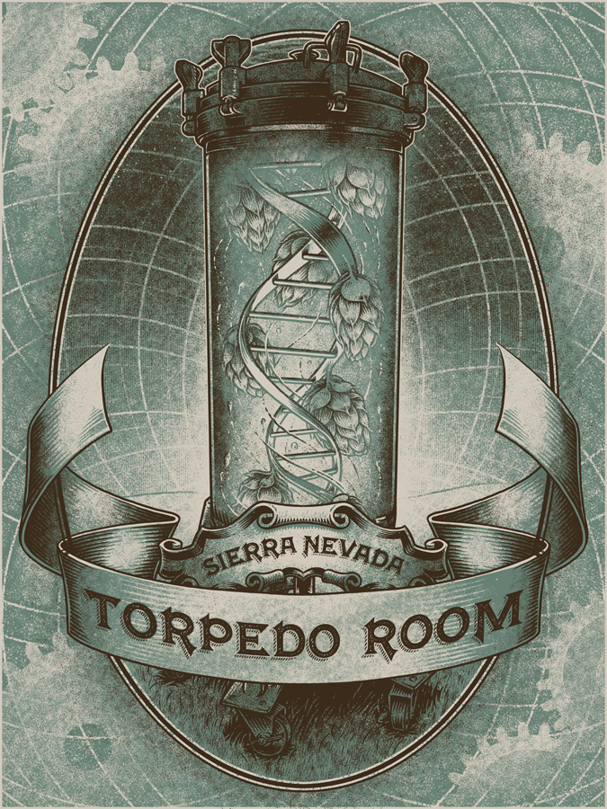Sierra Nevada – Torpedo Room – The Art of Brian Luong