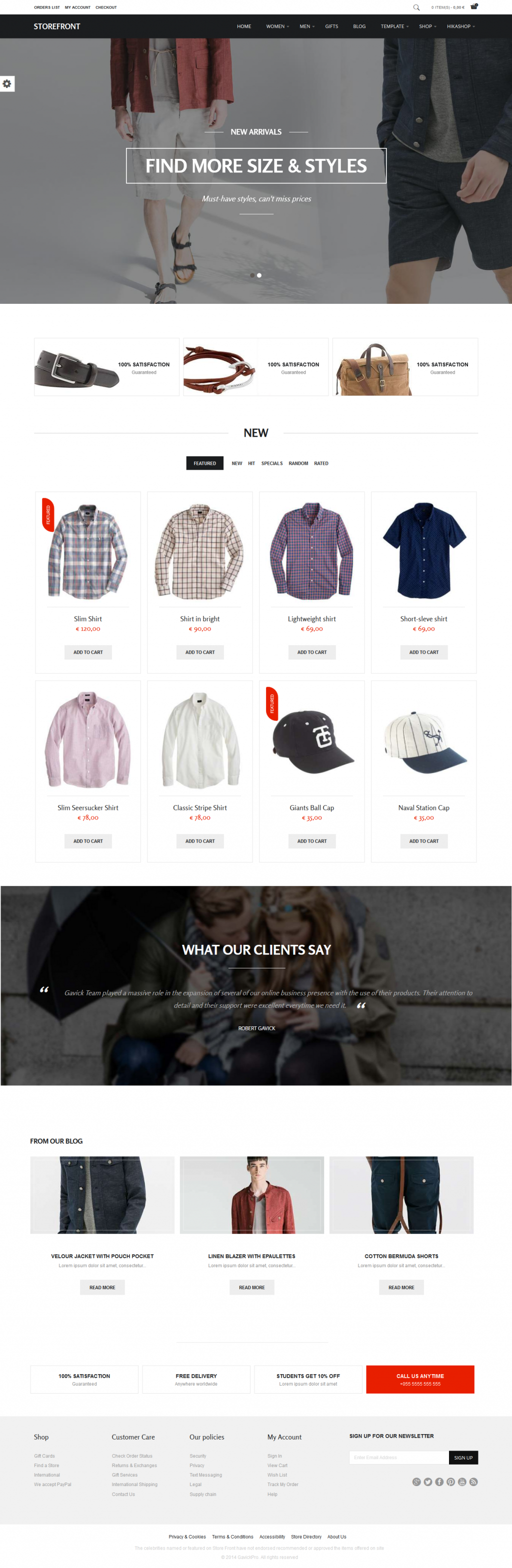 Storefront is a professional eCommerce Joomla Theme.