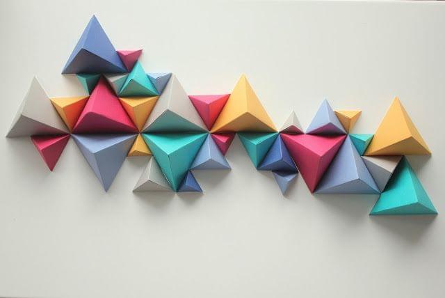 Sunrise Over Sea: Sculpture de triangle