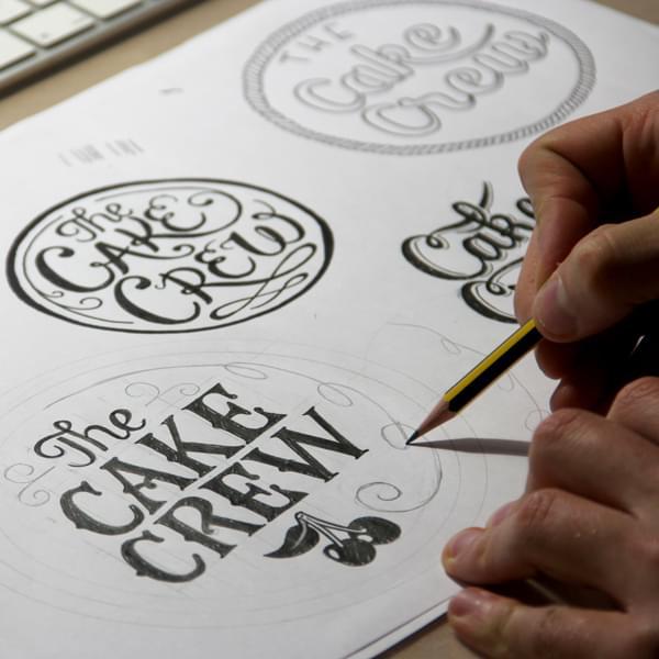 Logo for The Cake Crew.
