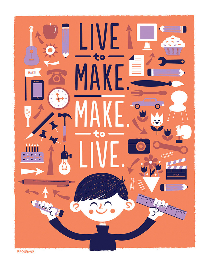 Live to make. Make to live – The Inspiration Stream