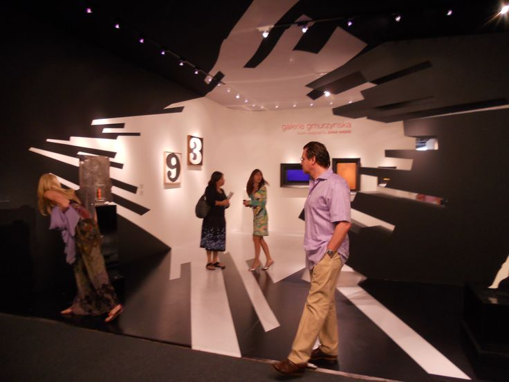 zaha hadid designed show booth.