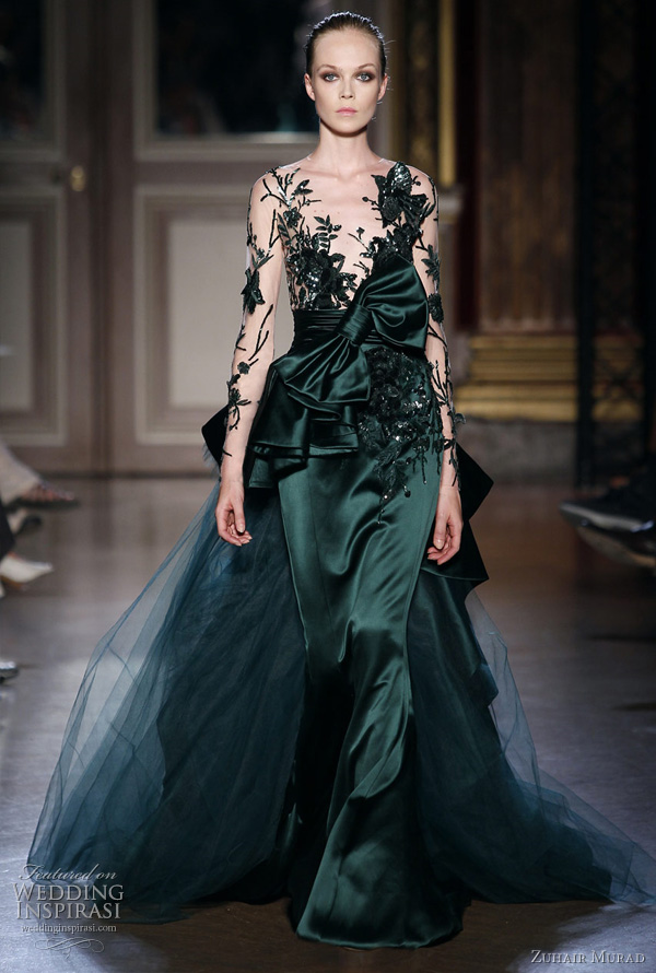 Zuhair Murad Fall/Winter 2011-2012 Couture | Wedding Inspirasi