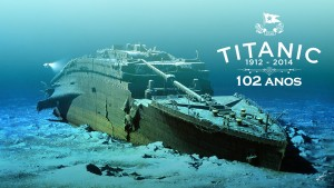 An Ocean of Memories – Titanic Homenage Type Art