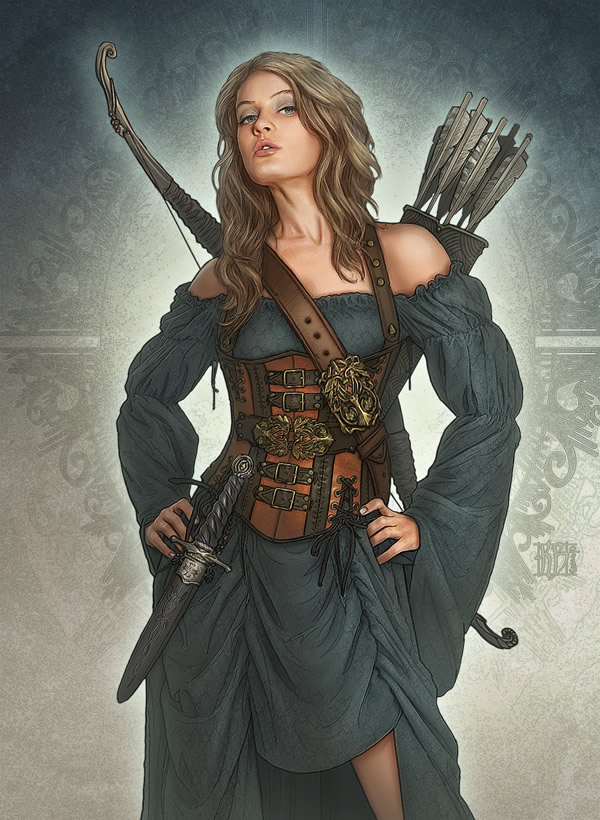 Badass Illustrations by Kerem Beyit | Abduzeedo Design Inspiration
