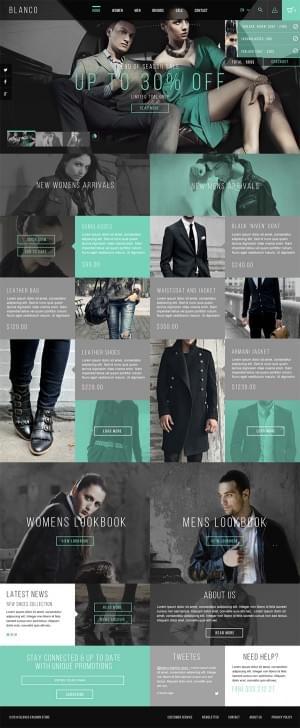 Blanco Fashion Store by Dawid Tomczyk