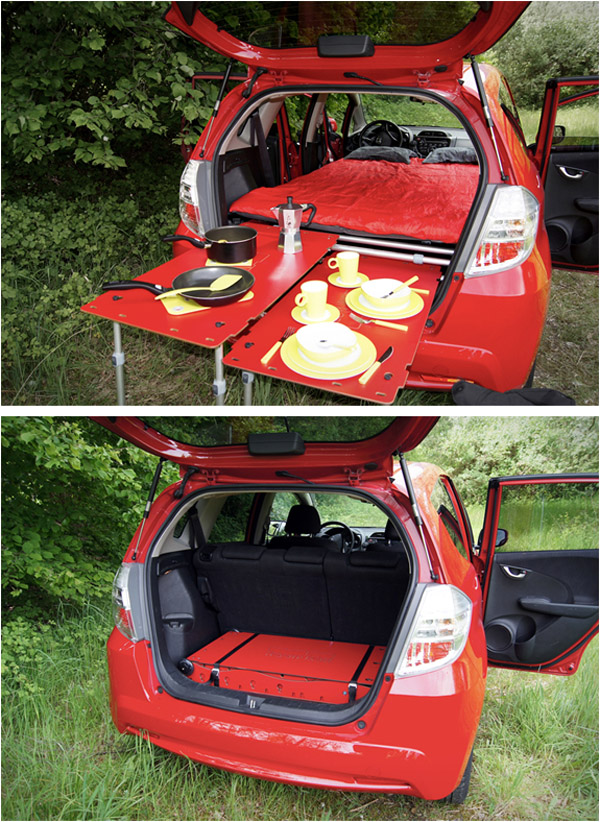 Car Camping Revolutionized | This Bed Folds Into a Suitcase