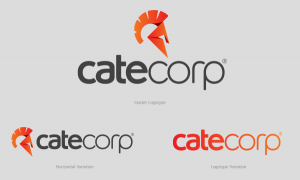 Cate Corp – Logotype & Stationery Design on Branding Served