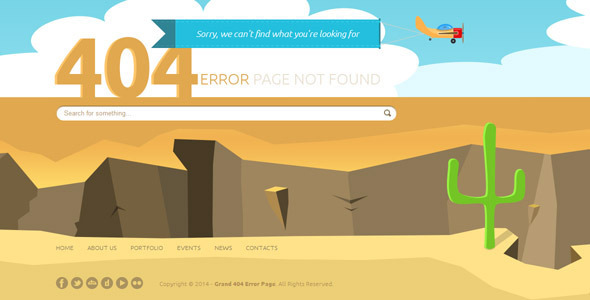 25+ Creative 404 Error Page Templates