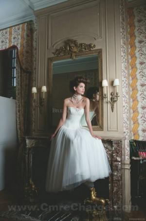 wedding Photo – style 358.00 2014 Classic Sleeveless Strapless wedding dress Style Cymbeli ...