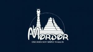 Disney Castle Mordor Sauron