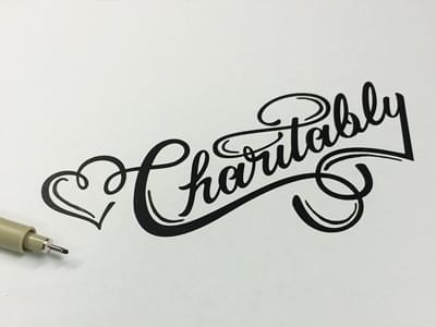 Love Charitably by Jenna Bresnahan