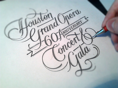 60 Anniversary Concert & Gala | Simple Sketch
