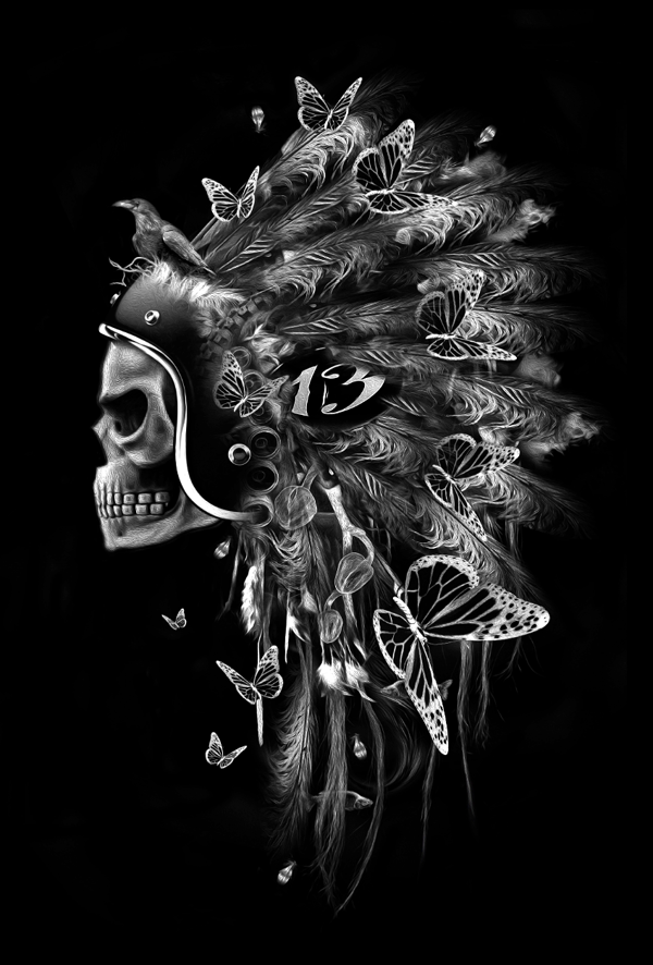 FANTASMAGORIK® INDIAN SKULL RUBY on Behance
