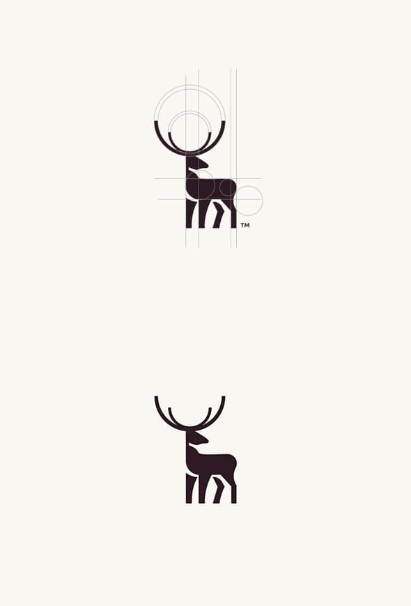Geometric Animal Logos