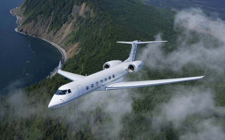 G550 Aircraft Jet
