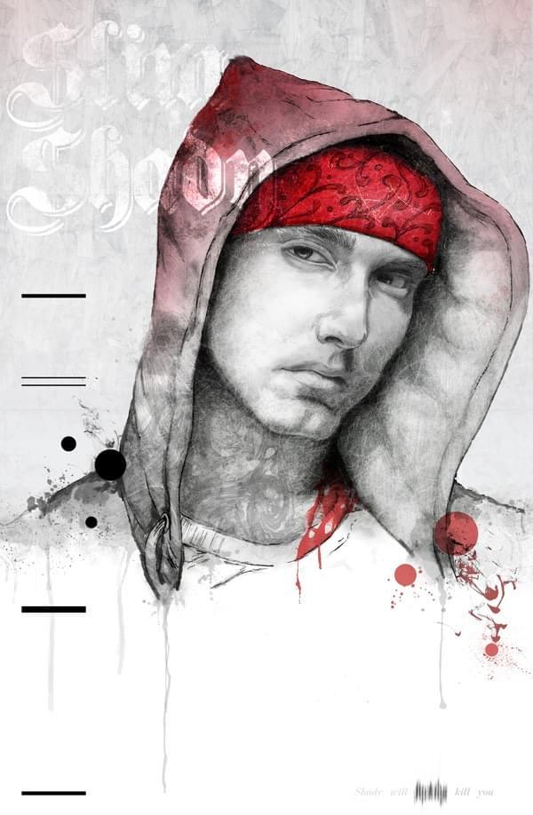 Hip Hop Illustrated Portraits | Abduzeedo Design Inspiration