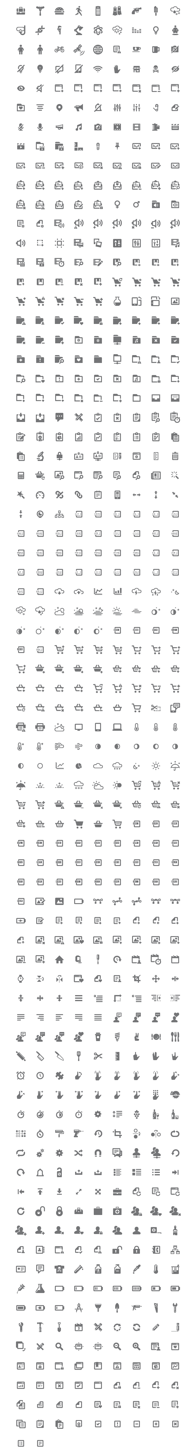 Iconify: 650+ Pixel-Perfect Icons