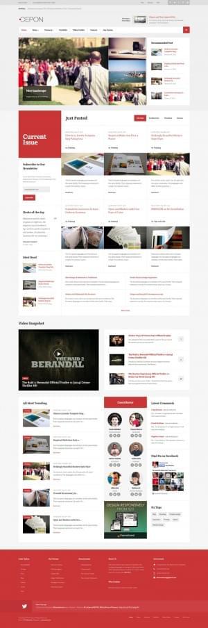 10 Best Newspaper and Magazine Joomla Themes