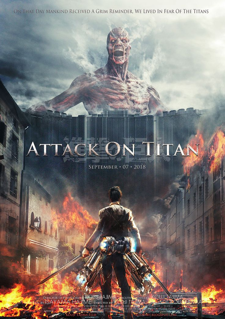 Attack On Titan fan art.