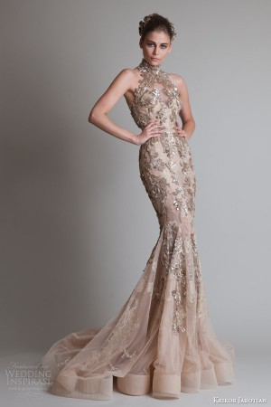Krikor Jabotian Fall 2013 Couture — Closure Collection | Wedding Inspirasi