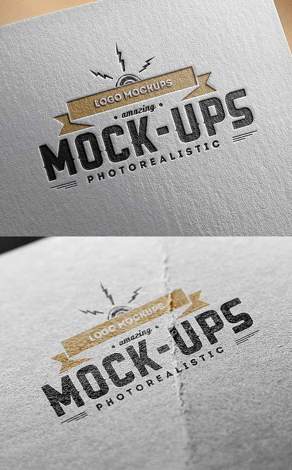 Logo MockUps – Paper Edition