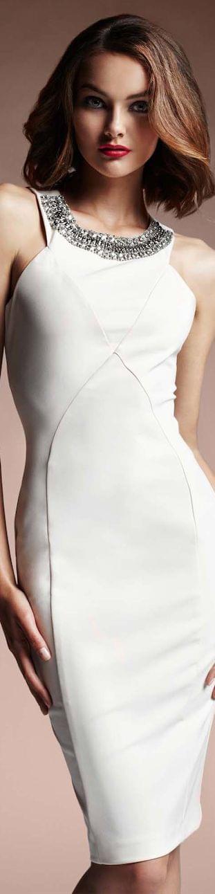 Love Republic white cocktail dress | Fashion | Pinterest