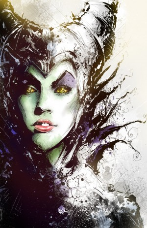 Maleficent by Shyree on deviantART
