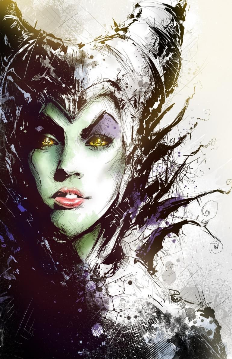 Maleficent by Shyree on deviantART
