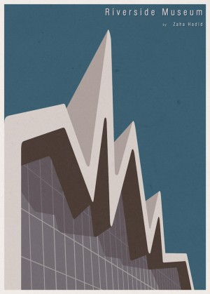 Minimalist Architecture Posters by Andre Chiote – My Modern Met