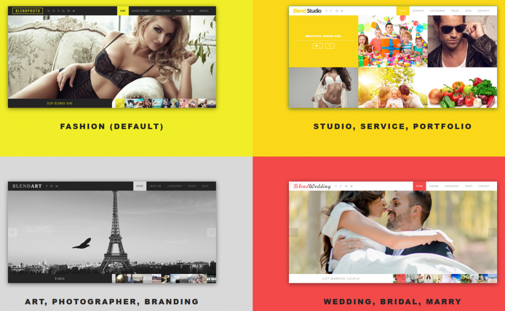 Blend is Fullscreen Photography WordPress theme which designed to focus on display your photos/p ...