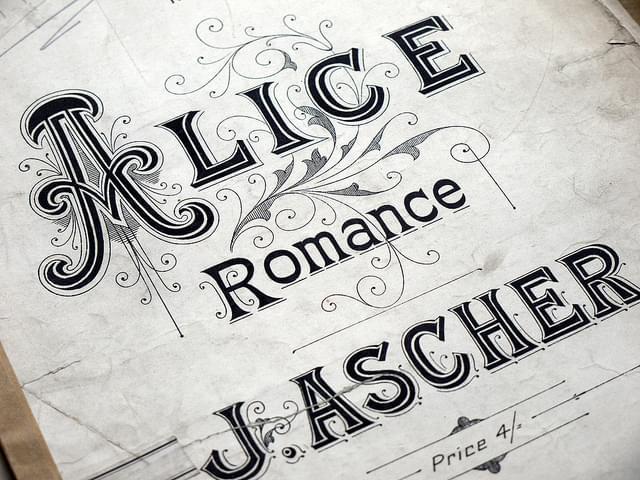 Music Sheet Alice