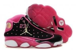 Nike Air Jordan 13 Retro Womens Black Pink White,Wow Possible Price!