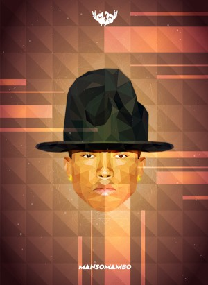 Pharrell Williams Geometric