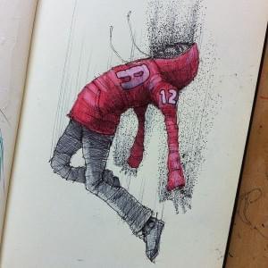 MOLESKINE SKETCHES 3 by Norio Fujikawa
