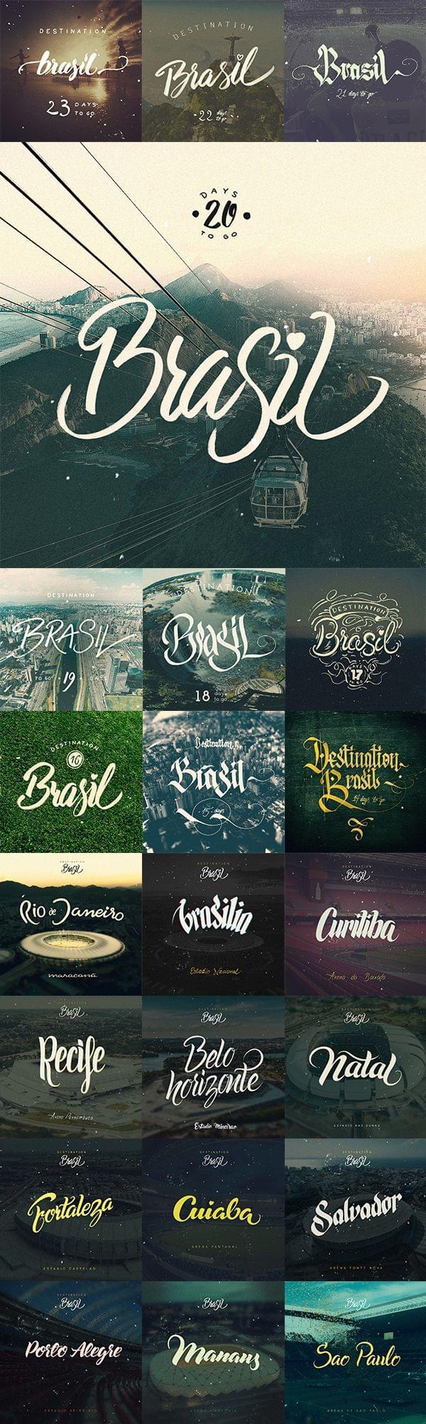 Destination Brasil by Arkadiusz Radek