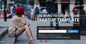 Bivio is a quick and easy customize startup template. Bivio is made of HTML5 and CSS3. It is ful ...