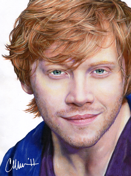 Rupert Grint – Drawing  … – tumblr-redheadpride