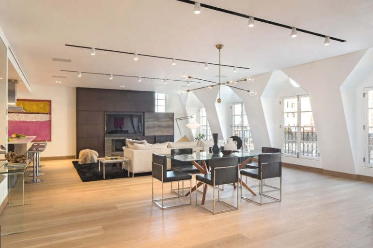 Tribeca Penthouse by Turett Collaborative Architecture